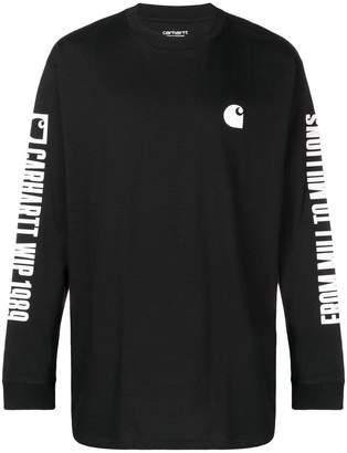 Carhartt Heritage branded jersey sweater