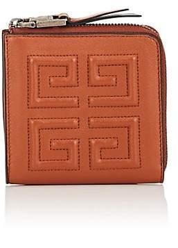 Givenchy Women's Emblem Medium Zip Wallet - Beige, Tan
