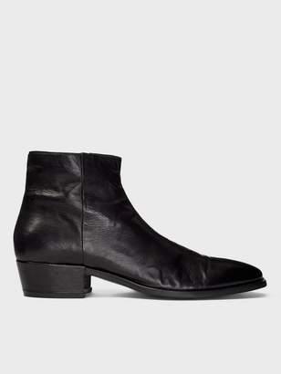 John Varvatos Ludlow Leather Heel Boot