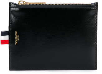 Thom Browne zipped pouch wallet $374.06 thestylecure.com