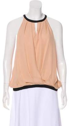 Chelsea Flower Sleeveless Silk Top