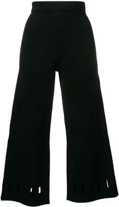 Dagmar cut-detail cropped trousers