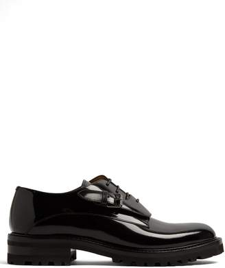 Valentino Monk-strap leather derby shoes