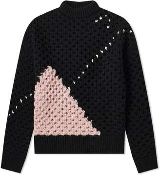 Raf Simons Argyle Heavy Knit
