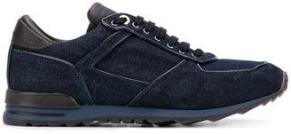 Canali lace up sneakers