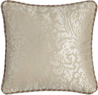"""Isabella Collection By Kathy Fielder Ranier Pillow, 20""""Sq."""