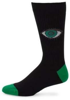 Paul Smith Character Jacquard Socks