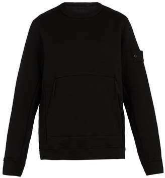 Stone Island Ghost Wool Sweatshirt - Mens - Black