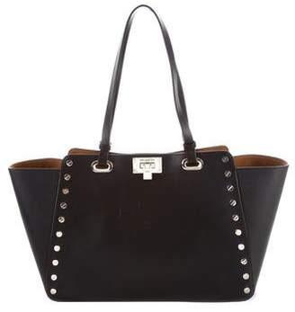 Karl Lagerfeld Manon Studded Leather Tote