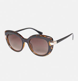 Avenue Lafayette Black X Tortoise Sunglasses