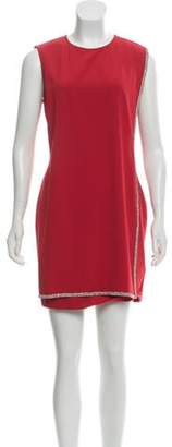 Ted Baker Double Layer Embellished Tunic Dress w/ Tags Red Double Layer Embellished Tunic Dress w/ Tags