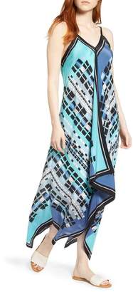 Nic+Zoe From Above Dress Silk Blend Maxi Dress