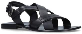 Stemar Leather Strap Sandals