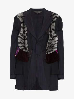 Comme des Garcons Multi Layered Fabric Jacket