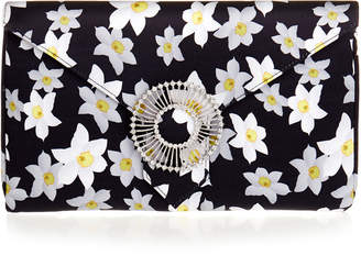 Wilbur & Gussie Edith Daffodil Yellow Silk Clutch Bag