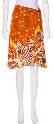Just Cavalli Printed Knee-Length Skirt