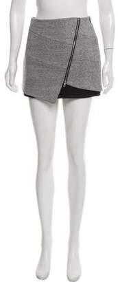 Intermix Knit Mini Skirt