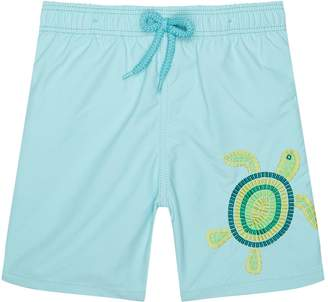 Vilebrequin Mosaic Turtle Swim Shorts
