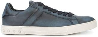 Tod's faded lace-up sneakers