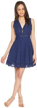BB Dakota Vianne V-Neck Eyelet Dress Women's Dress