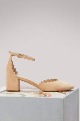 Chloé Lauren leather heels