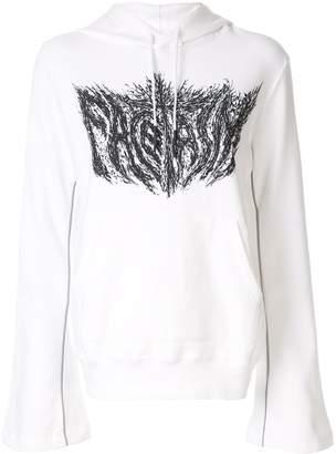 Facetasm graphic print hoodie