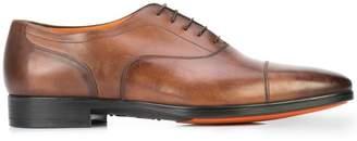 Santoni Eamon cap toe shoes