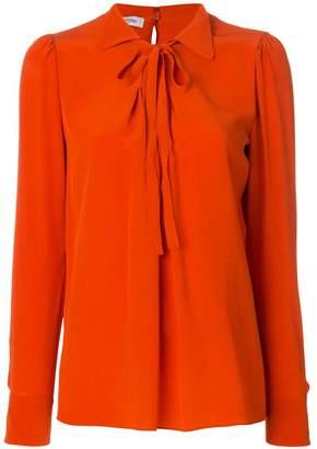 Valentino bow front shirt