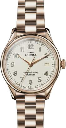 Shinola The Vinton Bracelet Watch, 38mm