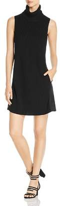 Elie Tahari Sonya Mixed Media Sweater Dress