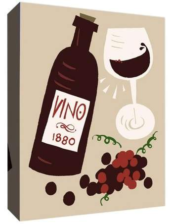 Vino 1880 Decorative Canvas Wall Art 11
