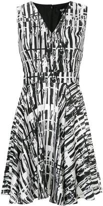 Versus printed V-neck dress