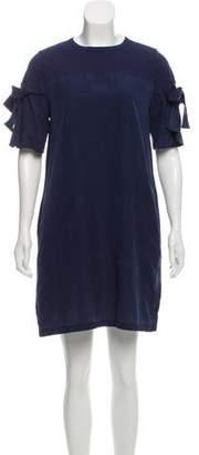 Clu Silk-Blend Mini Dress w/ Tags