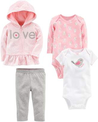 Carter's Simple Joys by Baby Girls 4-Piece Little Jacket Set