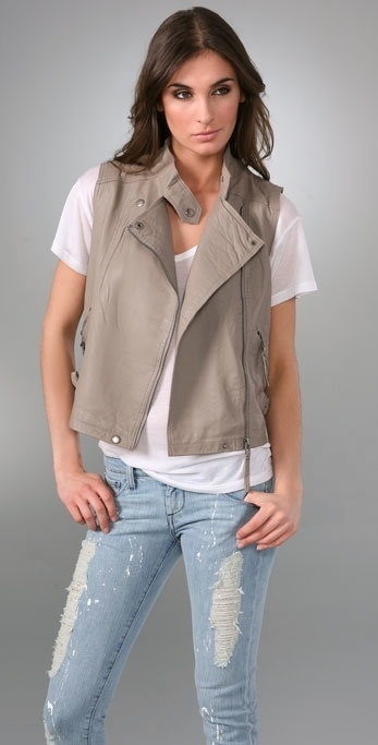 Iro Manith Leather Vest