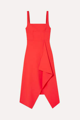 Dion Lee Stretch-crepe Midi Dress - Red