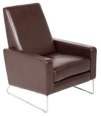 Pre Owned At Therealreal Design Within Reach Leather Flight Recliner
