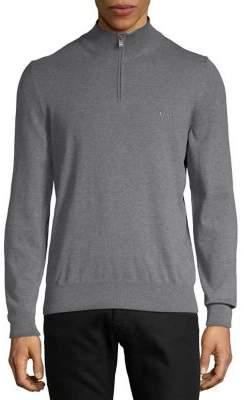 BOSS Padro Quarter Zip Sweater