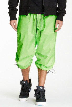 Y-3 Drawstring Cropped Pant $455 thestylecure.com