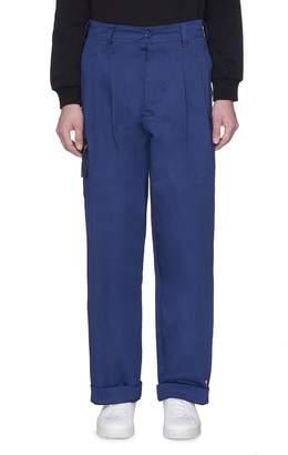 'WWB Chevignon by 032c' twill cargo pants