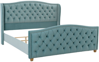Jennifer Taylor Marcella Tufted Wingback King Bed