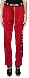 "Amiri Women's ""Lovers"" Glitter-Stripe Track Pants - Red"