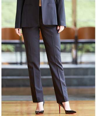 Calvin Klein (カルバン クライン) - Calvin Klein women 【大人気定番 / スーツセットアップ対応】トロピカルウール パンツ(C)FDB