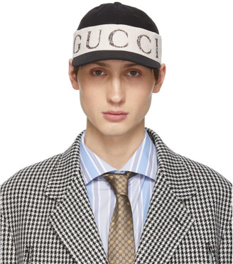 Gucci Black Logo Headband Cap