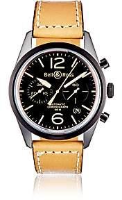 Bell & Ross Men's BR 126 Heritage Watch - Black