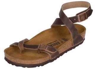 77eea52a76149 at Amazon Canada · Birkenstock Women s Yara Leather Ankle-Strap Sandal