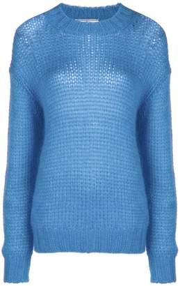Prada dropped shoulder knit jumper