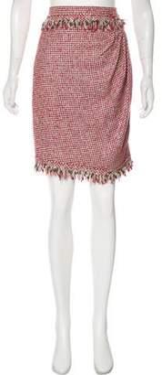 Chanel Tweed Pencil Skirt