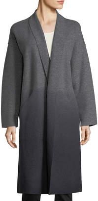 Eileen Fisher Ombre Boiled Wool Kimono Coat, Petite