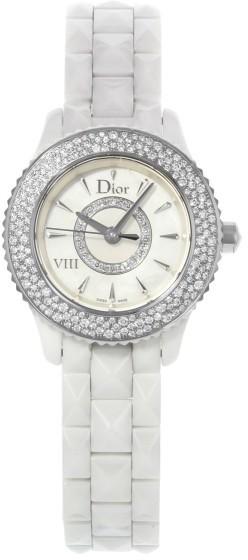 Christian Dior Christian Dior VIII CD1221E4C001 Ceramic Quartz 29mm Womens Watch